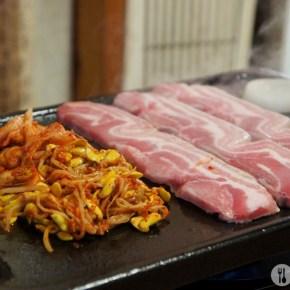 [溫哥華美食] Seok Gi Si Dae 豪邁傳統韓式烤肉店