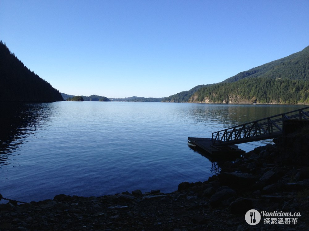 indian arm camping 29