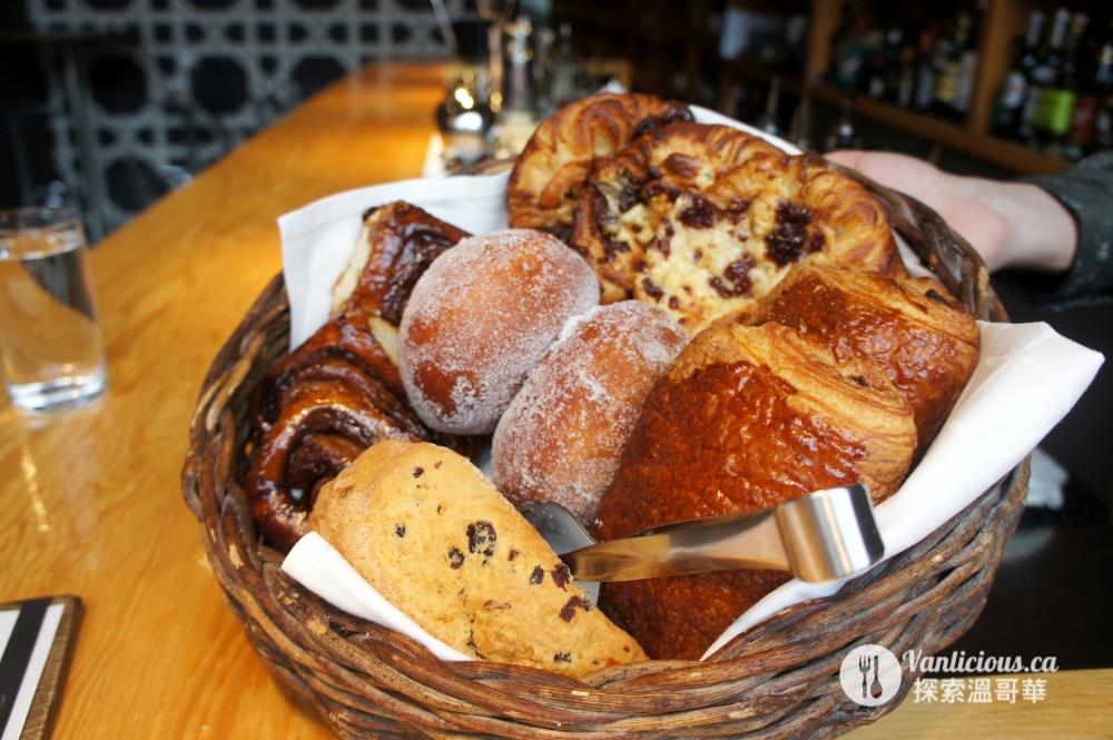 L'Abattoir brunch pastry
