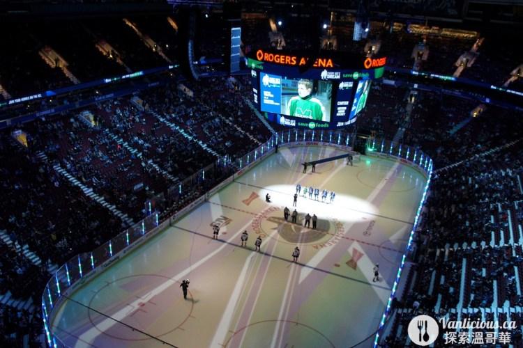 [溫哥華好玩的] Canucks 加人隊冰球比賽初體驗 Rogers Arena