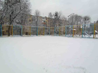 Спортивний майданчик вул. Чапаєва 30