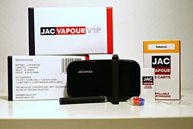 JAC Vapour V1P Pro Kit review