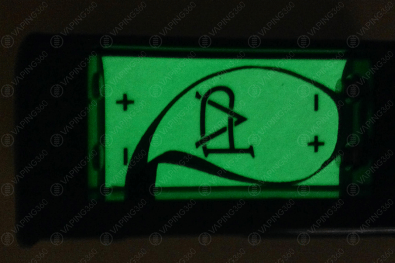 Decimus Glow in the Dark Background for Battery Compartment