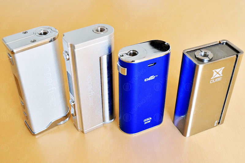 Vaporfi VOX II, Vox I, iStick 50W and xCube