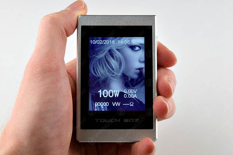 SMY Touch Box Front Screen