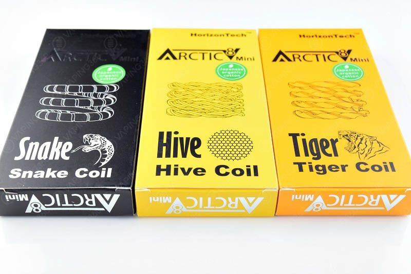 Horizontech Arctic V8 Mini Snake-Hive-Tiger Coils