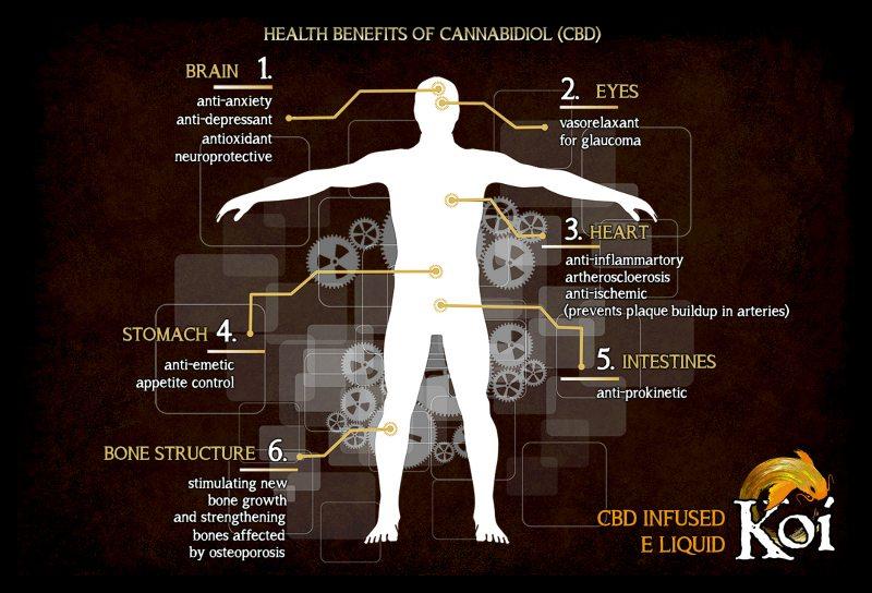 Koi CBD Benefits