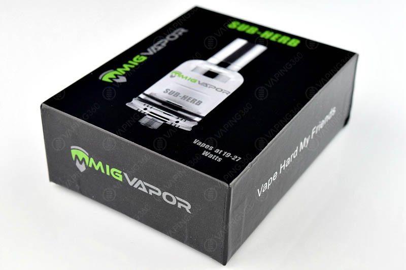 Mig Vapor Sub-Herb Packging