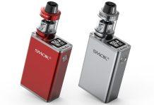 SMOK Micro 150 Kit Silver and Red