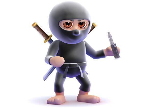 Stereotypical vapers: the stealth vape ninja