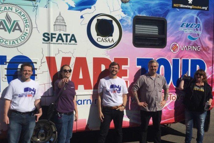 advocates-with-tour-bus