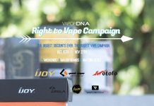 VaporDNA Right to Vape Campaign