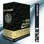 Coco Loco White Rhino Blacklight E-Hookah 6mg