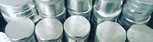 Premium US made #herbgrinders anyone? Fresh batch of grinders from our long time friends at #Mendo Mulcher. If you have yet to experience how amazing these #grinders really are we highly recommend that you do. On sale at ezvapes.com now. #madeinusa #mendocino #california #herbgrinder #grinder #ezvapes #vapetheworld #mendomulcher