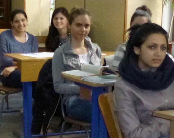 Nachmittagsunterricht für Oberschüler in Cluj