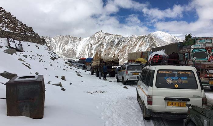 Snowfall In Ladakh in September This Year
