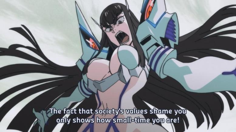 It's like this show was made to openly mock the critics of anime.