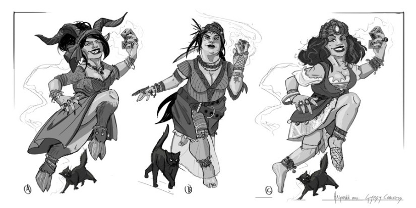 Fortune maker character concepts