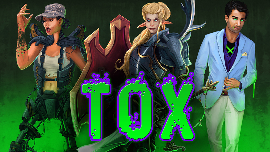 Banner for the Tox RPG Kickstarter