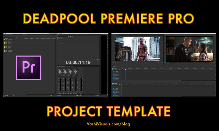 Download Deadpool Premiere Pro Template