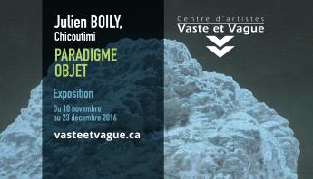 Julien BOILY Paradigme objet Vaste et Vague