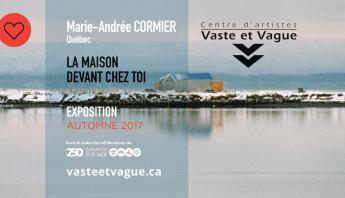 Marie-Andrée CORMIER, Québec LA MAISON DEVANT CHEZ TOI | Installation