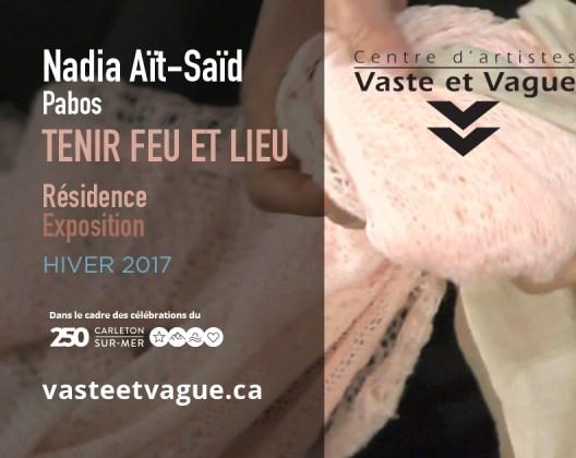 Vaste et Vague | LA CONCORDANCE DES TEMPS | HIVER | Nadia AÏT-SAÏD