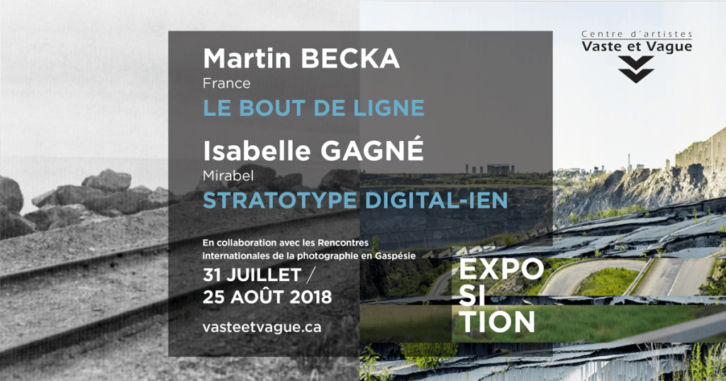 Martin BECKA, France | Isabelle GAGNÉ, Québec | Rencontres internationales de la photographie en Gaspésie