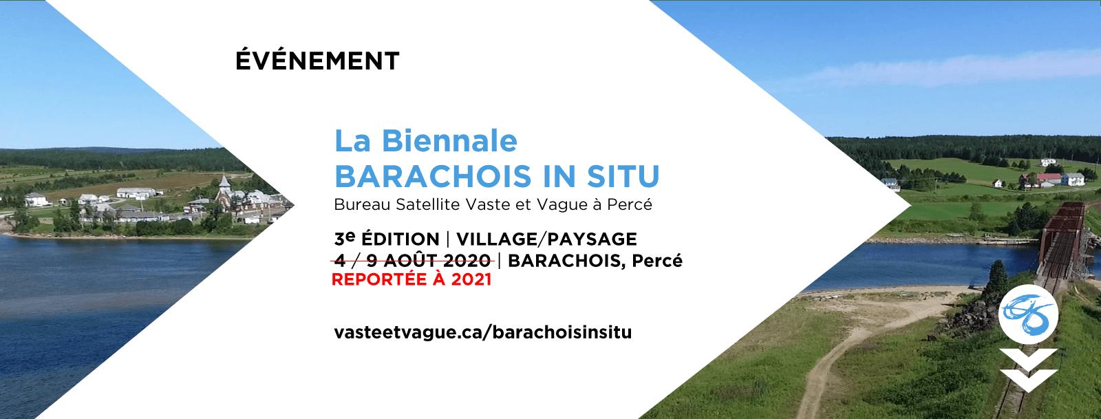 La Biennale Barachois In Situ | REPORTÉE À 2021