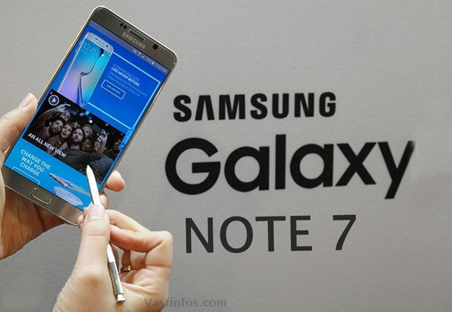 Samsung Galaxy Note 7 Specifications news features