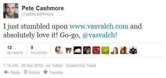 pete cashmore mashable tweet vasvalch.com