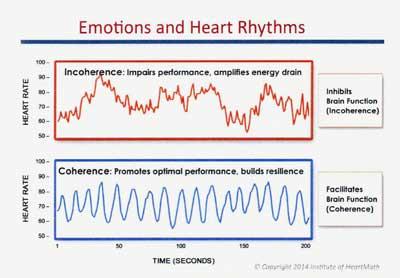 感情と心臓リズム(心拍変動)の相関関係