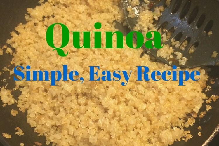 Quinoa Made Easy