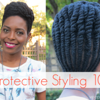Protective Styling on Natural Hair- The Basics