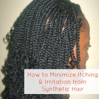 How to Minimize Itching and Irritation from Synthetic Hair