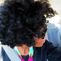 Flat Twist Out using Lace Natural Products