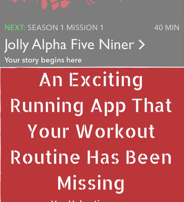 Zombies Run App