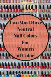 neutral nail colors for women of color