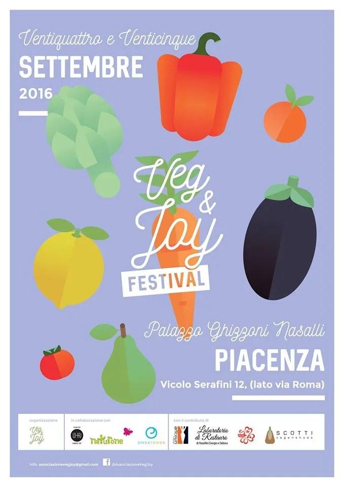 Veg&Joy Festival a Piacenza - 24 e 25 settembre