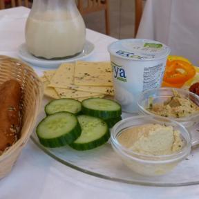 Veganes Frühstück Hotel Feichtinger