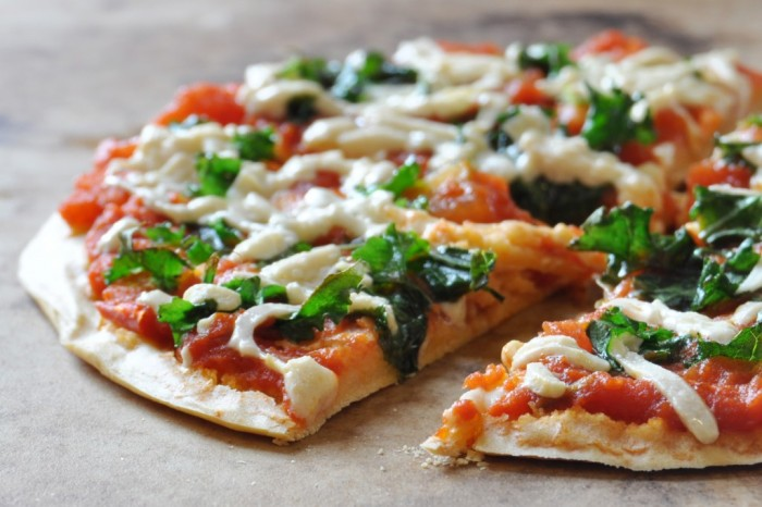 vegan Chickpea-Crust-Pizza
