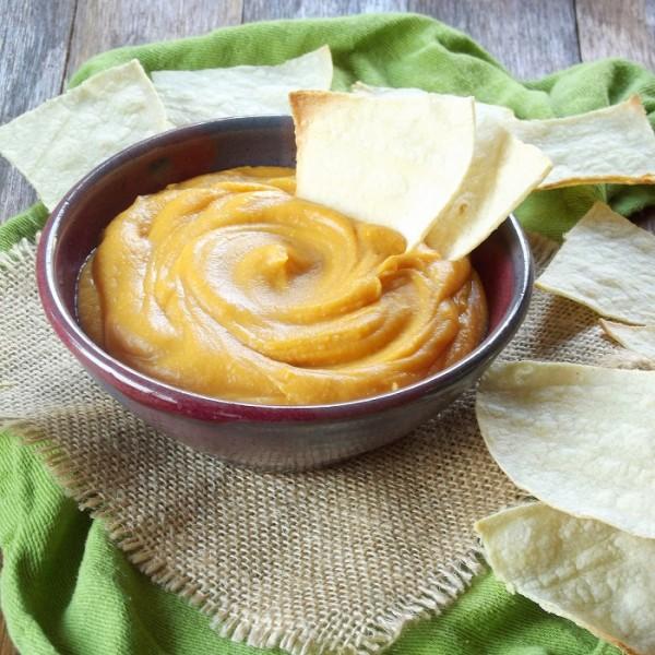 vegan nacho sweet potato cheese