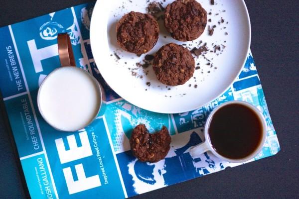 vegan breakfast brownies