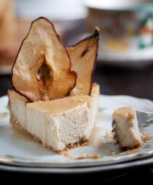pear-ginger-cheesecake