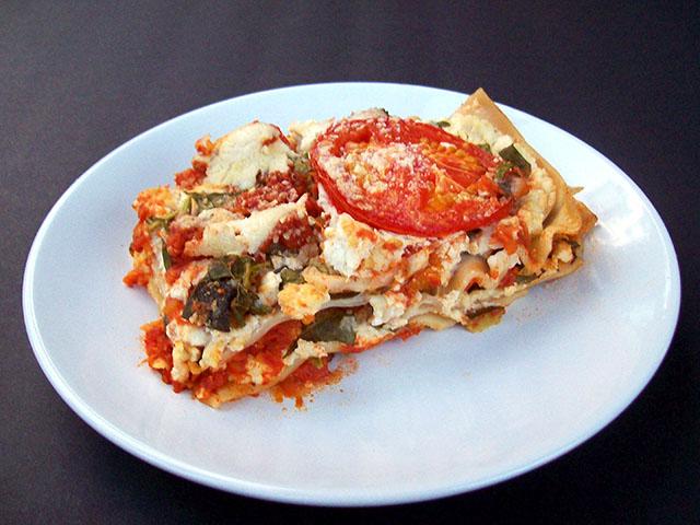 Creamy Vegetable Lasagna (Vegan)