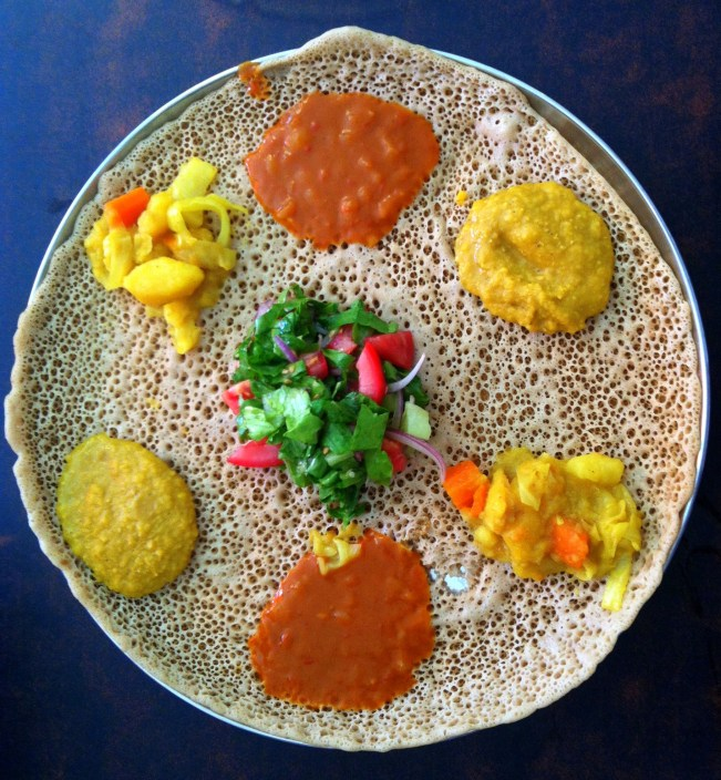 אוכל אתיופי - טנאת