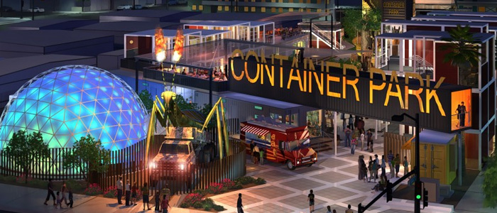 The Downtown Las Vegas Container Park Is Now Open Travelivery