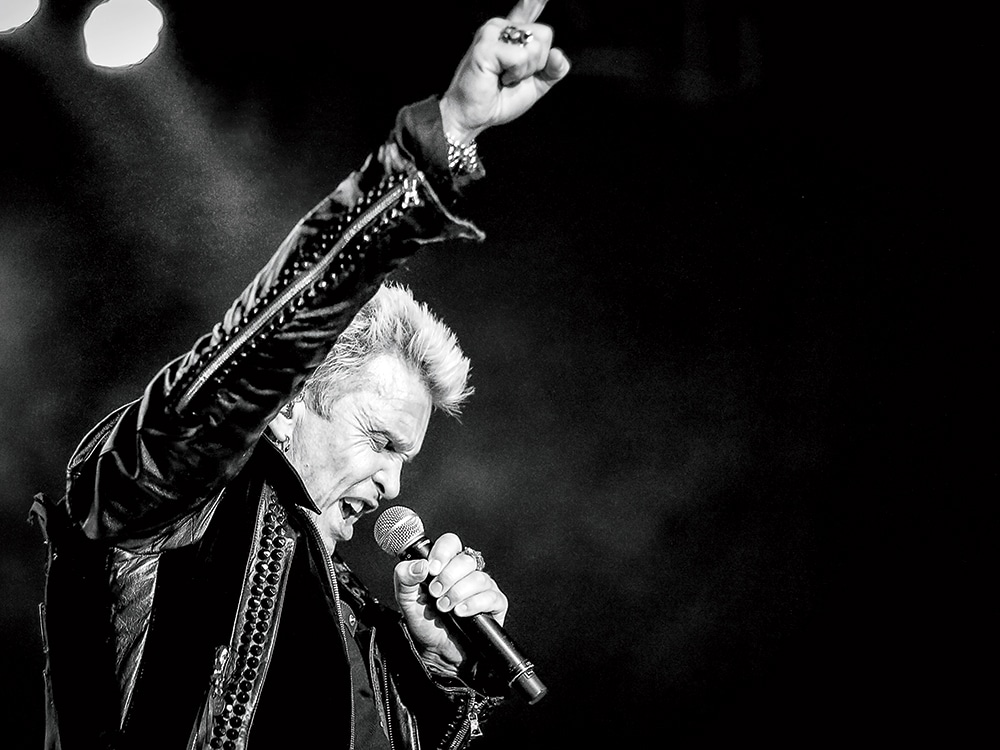 Billy Idol Comes to Mandalay Bay s House of Blues