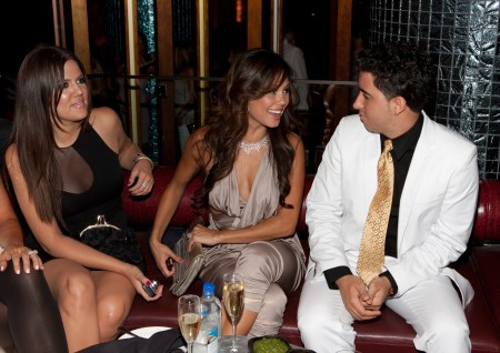 khloe and vanessa and colby odonis SPRING BLING at The Palazzo