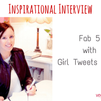 Inspirational Interview - Fab 5 with Girl Tweets World